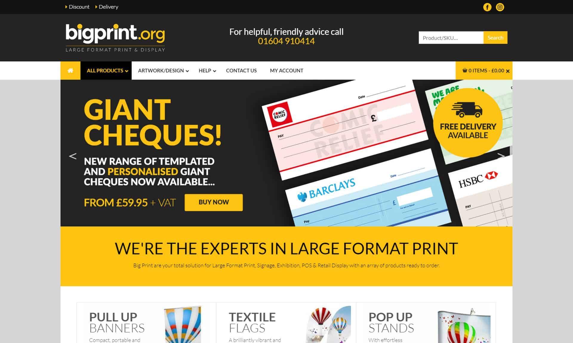 Big Print Northampton